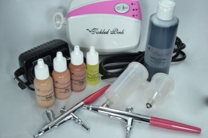 Tickled Pink Airbrush Makeup Deluxe Kit